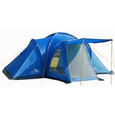 Палатка Alpika DALLAS-4 LUX  (470х240+140х200, 3000мм, дно PE)