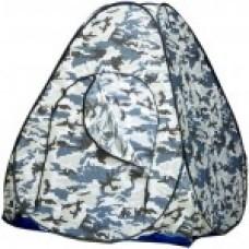 Палатка автомат зим 2,0х2,0  с дном (сер.кмф)