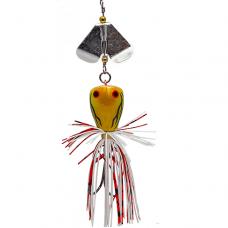 Лягушка LureMax Buzzer Broga 9г, 3см с турбиной, F04