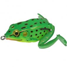 Лягушка LureMax Kicker Frog 10г, 5.5см с лапками, FR01