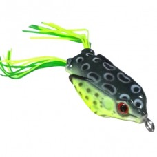 Лягушка VKG Frog с двойником 37мм, 5.5г, болотн-желт