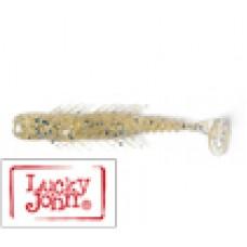 Приманка силикон съед Lucky John BUGSY SHAD 2.8''/7.1см  7шт, CA35 silver prawn
