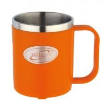 Термокружка Biostal пласт.вставка цв 200мл, оранж
