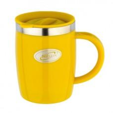 Термокружка Biostal FLER пласт.корп с крышк цв 400мл желт