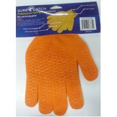 Перчатки SureCatch с ПВХ оранж