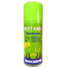 Аэрозоль Рефтамид МАКСИМУМ 3в1 от ком/клещ/мош 100мл, 4ч  (15)