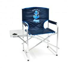 Кресло складн Кедр Адмирал AKAS-04  56х57х47/83 алюм22х1.2, до110кг со столиком/подстакан