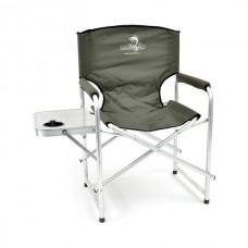 Кресло складн Кедр AKS-07  56х57х47/83 алюм22х1.2, до110кг со столиком/подстакан