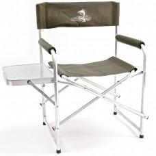 Кресло складн Кедр AKS-04  56х57х47/83 алюм22х1.2, до110кг со столиком