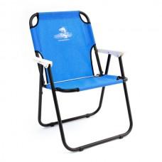 Кресло шезлонг складн Кедр SK-08  40х59х40/82 стал22х1, до110кг синий