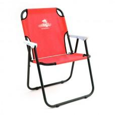 Кресло шезлонг складн Кедр SK-08  40х59х40/82 стал22х1, до110кг красный