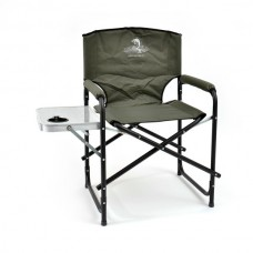 Кресло складн Кедр SK-07  56х57х47/83 стал22х1, до120кг со столиком/подстакан
