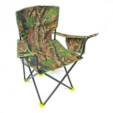 Кресло складн Кедр SK-09 Compact с карманом, подстаканником, цв.лес