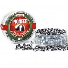 Пули д/пневм Люман круглоголов Pioneer 4.5мм 0.3г  550шт