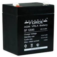 Аккумулятор 12В 4.5А (GS, TopPower, Security)