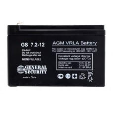 Аккумулятор 12В 7.2А  (GS, Security)