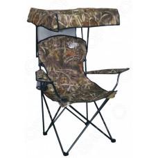 Кресло складн. Savarra сталь  86х52х148см (кмф/лес) с козырьком
