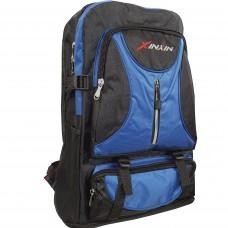 Рюкзак кордура 70л 50/63х35х17 XinXin синий/черн