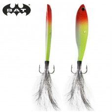 Бокоплав BAT Blade 13.5г/52мм, цв.01 fluo yellow white red  (3)