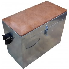 Ящик зим оцинк 400х200х330 мал, мягк.сидушка