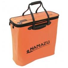 Кан сумка ПВХ Namazu 48см на молнии оранж N-BOX17  48х20х45см, ручки, линейка
