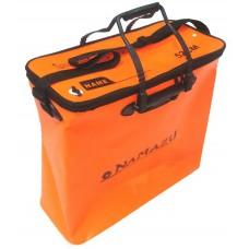 Кан сумка ПВХ Namazu 52см на молнии оранж N-BOX18  52х25х47см, ручки, линейка