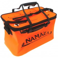 Кан сумка ПВХ Namazu 40см на молнии оранж N-BOX20  40х24х24см, ручки, линейка
