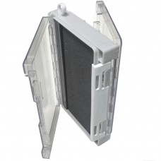 Коробка 175х110х40 2сторон с неопреном, прозр на шнуре