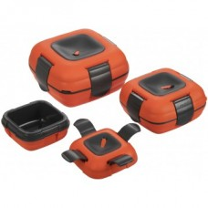 Набор термоконтейн PINNACLE Paloma пласт PP 0.5+1+2л оранж/черн