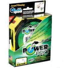 Нить Power Pro  92м  0,23  yellow