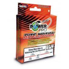 Нить Power Pro Bite Motion 150м 0,13  оранж/черн.