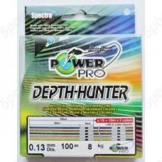 Нить Power Pro Depth-Hunter 100м  0,15 m/color