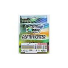 Нить Power Pro Depth-Hunter 100м  0,19 m/color