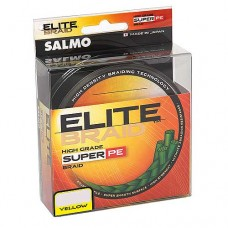 Нить Salmo Elite Braid 125м желт 0,33