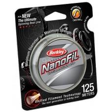 Нить Berkley NanoFil 125м 0,17  clear