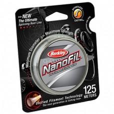 Нить Berkley NanoFil 125м 0,20  clear