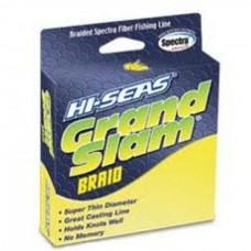 Нить Hi-Seas Grand Slam 137м желт 0,08/2,7кг
