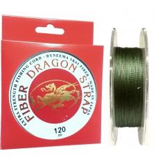 Нить Dragon (Dyneema SK65 made in Japan) green 120м 0,14  9кг