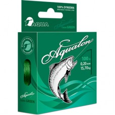 Нить Aqua Aqualon Dark Green 100м 0,12  8,40кг  (6)