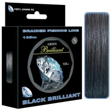 Нить Aqua Brilliant Black 135м 0,06  3,90кг   (6)