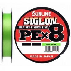 Нить Sunline SIGLON PEx8 150м light green 0.132 (10lb) 4.5кг