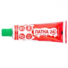 Жидкий ПВХ ЛАТКА 24  туба 20г, зелен