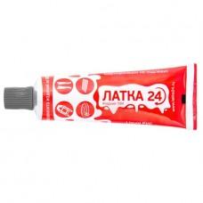 Жидкий ПВХ ЛАТКА 24  туба 20г, темно-сер