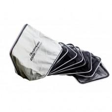 Садок Flagman прям 50x40см Rubber mesh обрезин 6секц, внешн.каркас алюм 3м