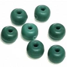 Бусина силикон LZF  d5х3, 30шт зелен