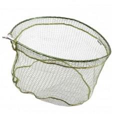 Голова подсачника Flagman обрезин  60х52см овал зелен, яч.12х6, резьба
