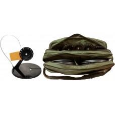 Жерлиц набор 10шт пласт.ст.угл D=195, кат.90 ЩУКАРЬ (ТриКита) сумка-портфель