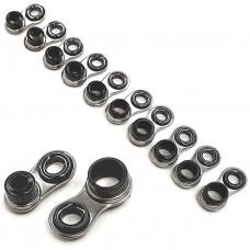 Колец плавающих (разгрузочн) на хлыстик набор 100шт d2.2-4