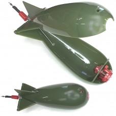 Кормушка Бомба карповая пласт 17см зел