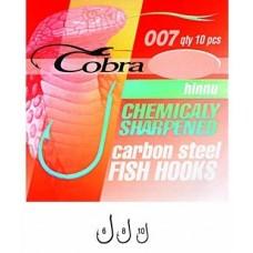 Крючок Cobra 007NSB Hiinu № 6  10шт  (10)